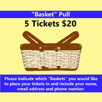 $20 2020 Pet & Craft Expo Basket Pull - 5 Numbers
