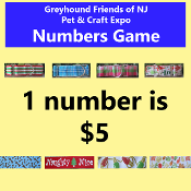 $5 Pet & Craft Expo Number Game - 1 Number